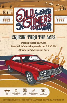 2020 Poster for the Old Timer's Festival